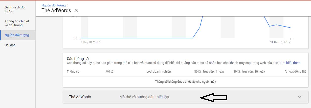 Hướng dẫn lấy mã google remarketing giao diện Google Adwords mới